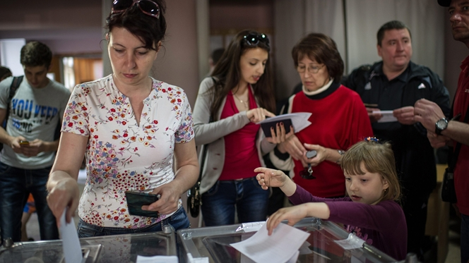 União Europeia não reconhece o referendo separatista na Ucrânia