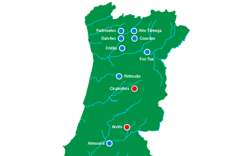 mapa das barragens de portugal Governo cancela construção de duas barragens   Renascença mapa das barragens de portugal