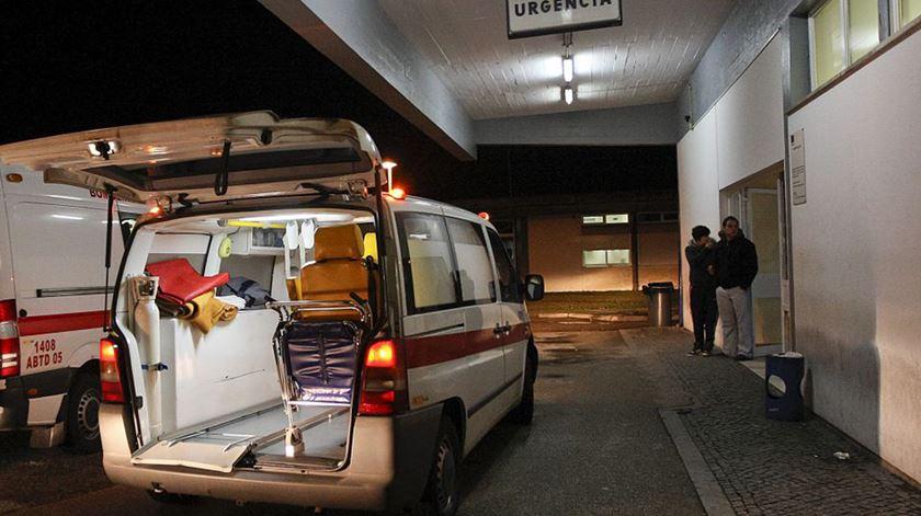 Hospital de Gaia precisa de dinheiro, diz diretor clínico. Foto: DR