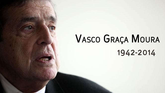 Morreu Vasco Graça Moura