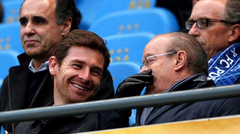 "Villas-Boas defende que Pinto da Costa deve liderar FC Porto ""enquanto for vivo"""