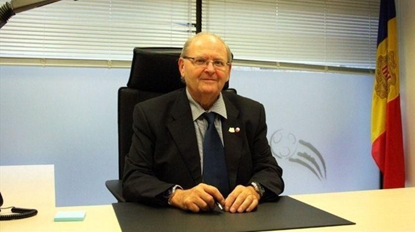 O presidente português da Federação de Andorra quer ganhar aos campeões europeus