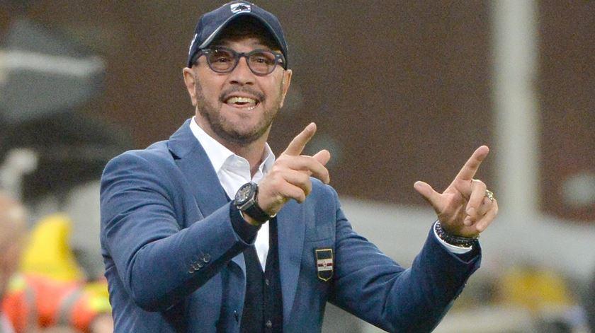 Walter Zenga deixou de ser treinador da Sampdoria. Foto: Luca Zennaro/EPA